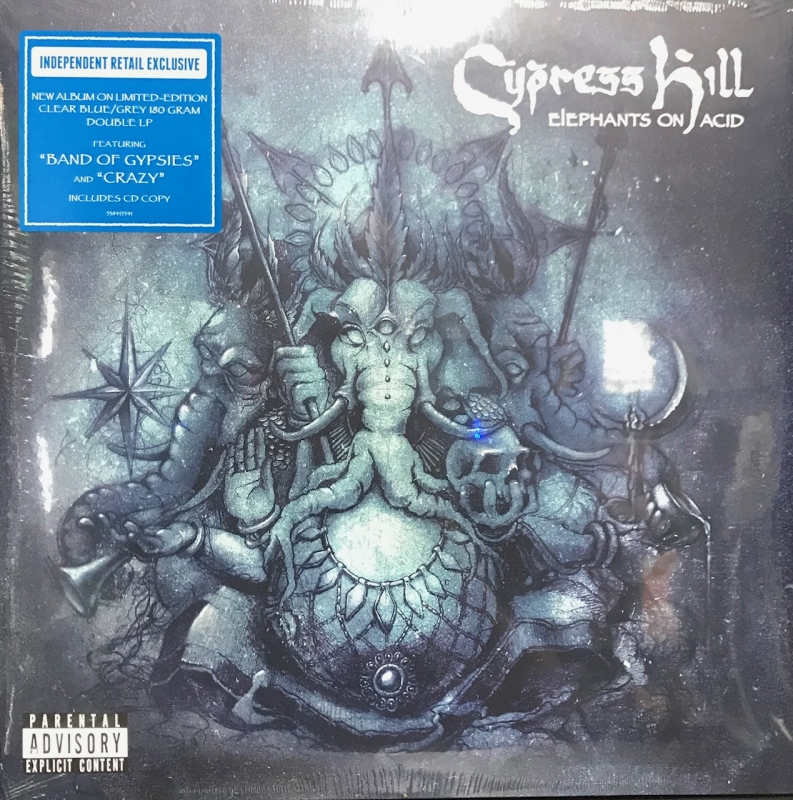 LP Cypress Hill - Elephants On Acid VINYL DUPLO IMPORTADO LACRADO E CD