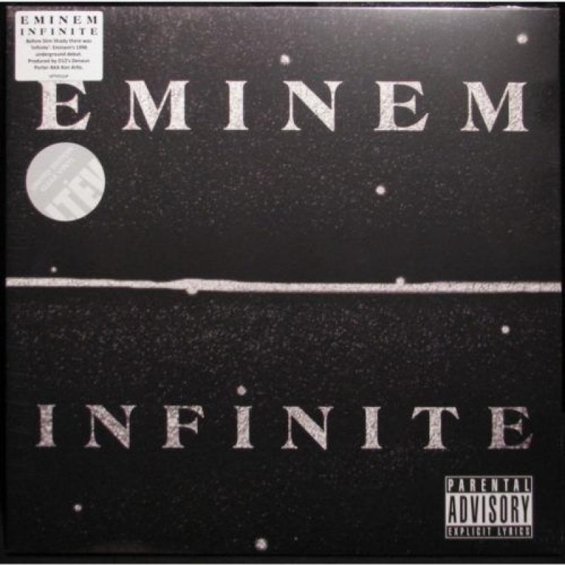 LP Eminem - Infinite VINYL TRANSPARENTE IMPORTADO LACRADO