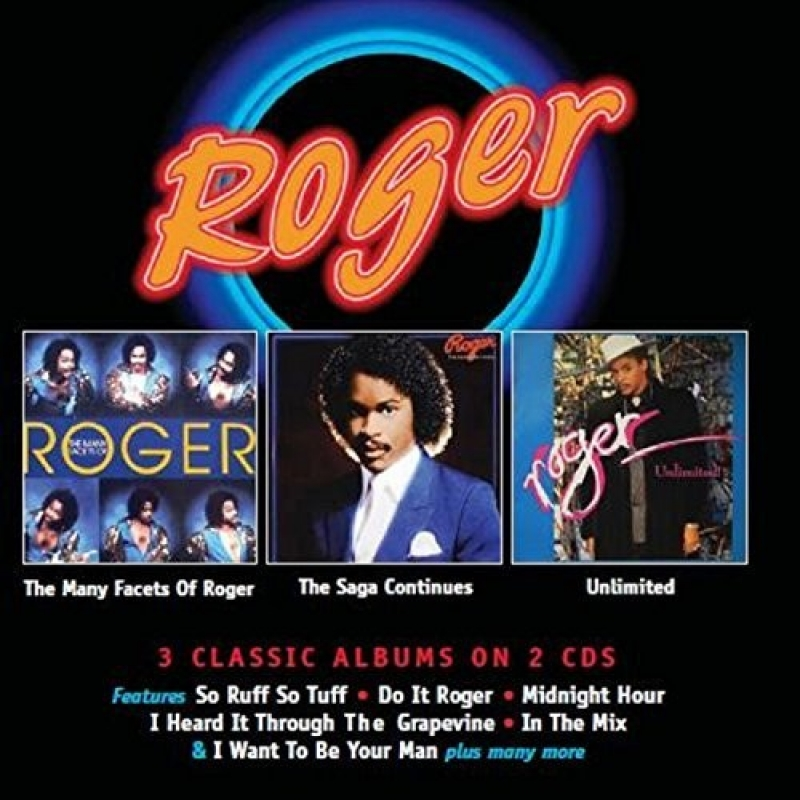 ROGER ZAPP - Many Facets of Roger  Saga Continues Unlimited 3 ALBUNS EM 2 CDS