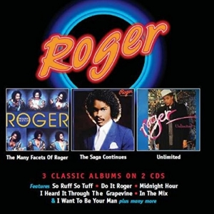 ROGER ZAPP - Many Facets of Roger  Saga Continues Unlimited 3 ALBUNS EM 2 CDS