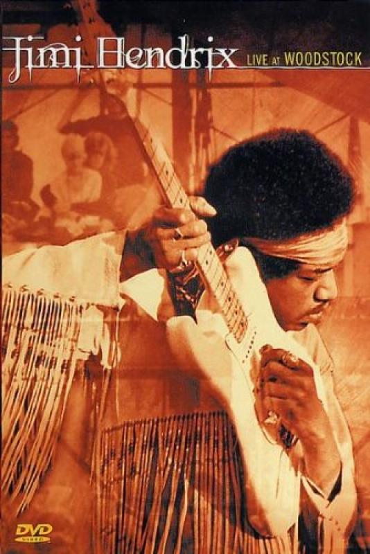 Jimi Hendrix - Live At Woodstock DVD