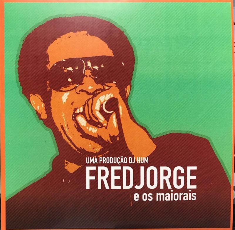 LP Fred Jorge E Os Maiorais Prod DJ HUM VINYL VERMELHO COMPACTO