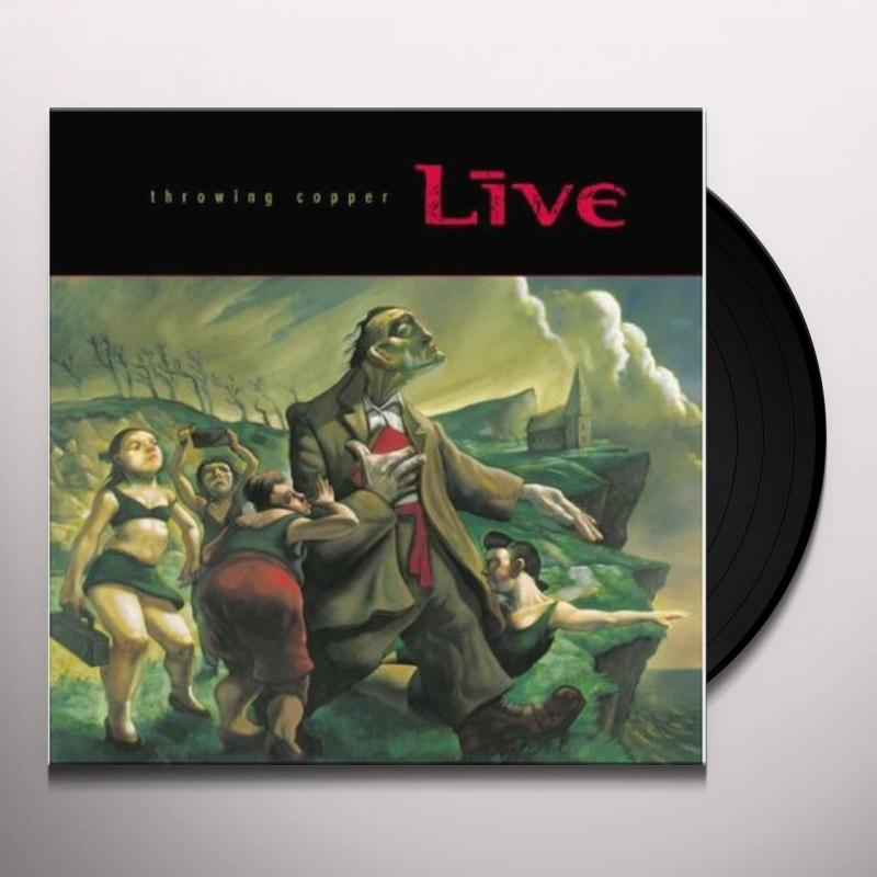 LP LIVE - Throwing Copper VINYL 180 GRAMAS IMPORTADO LACRADO