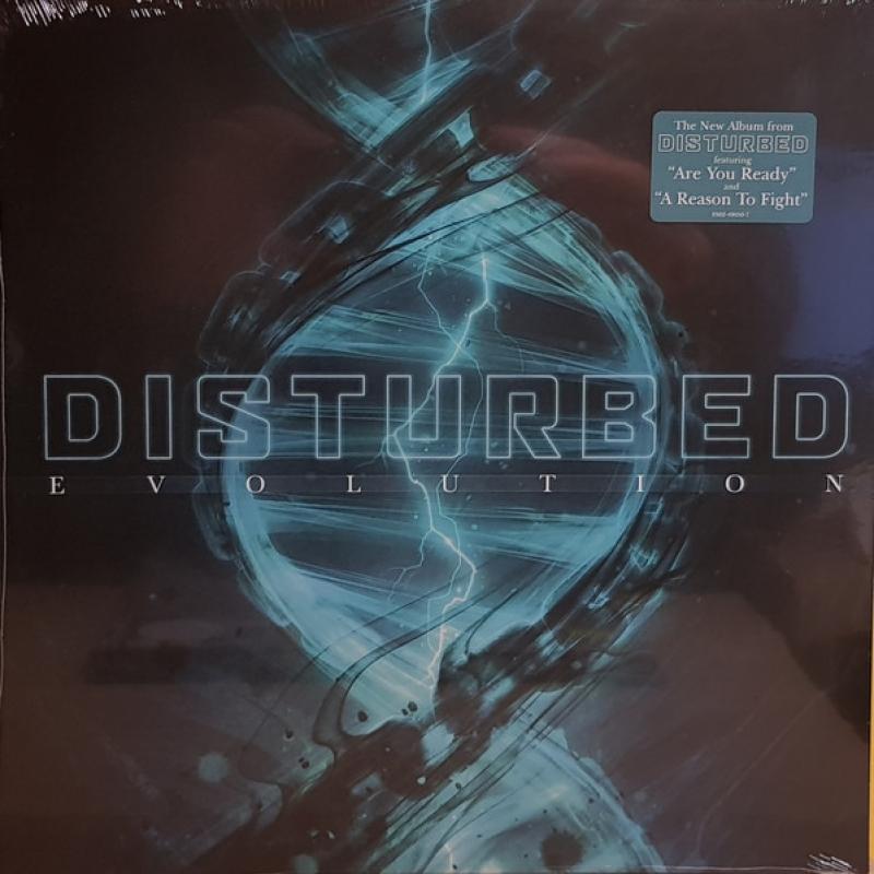 LP Disturbed - Evolution VINYL IMPORTADO LACRADO