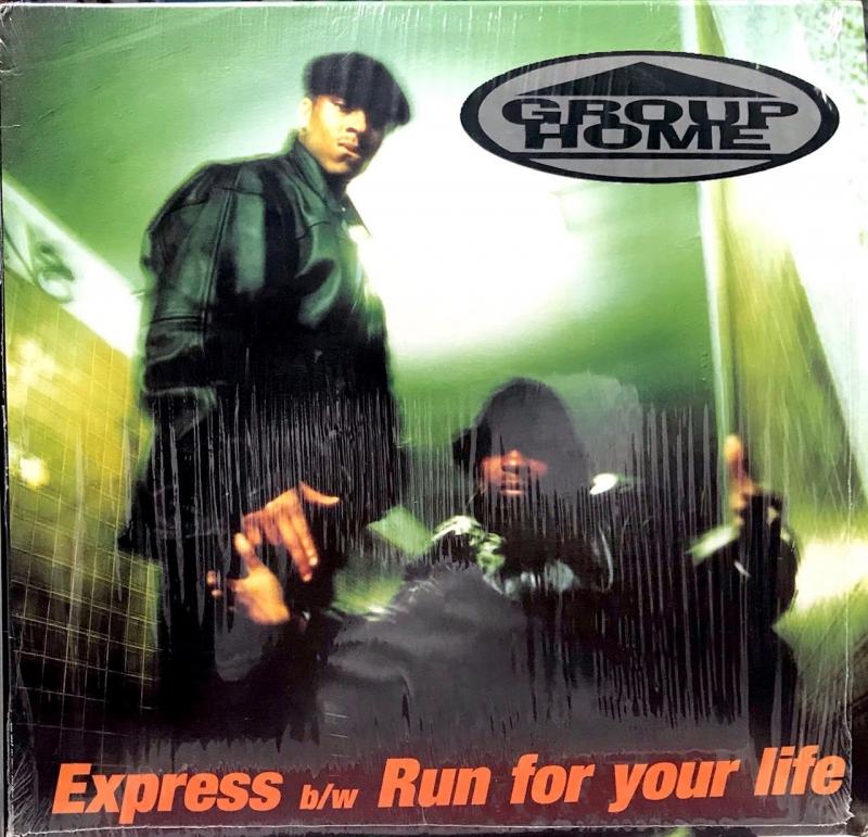 LP Group Home - Express e Run For Your Life VINYL