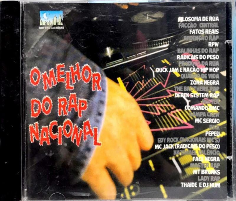 O Melhor Do Rap Nacional Vol 1 - coletanea RAP NACIONAL