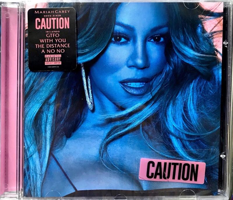 Mariah Carey - Caution (CD) NACIONAL (190758991320)