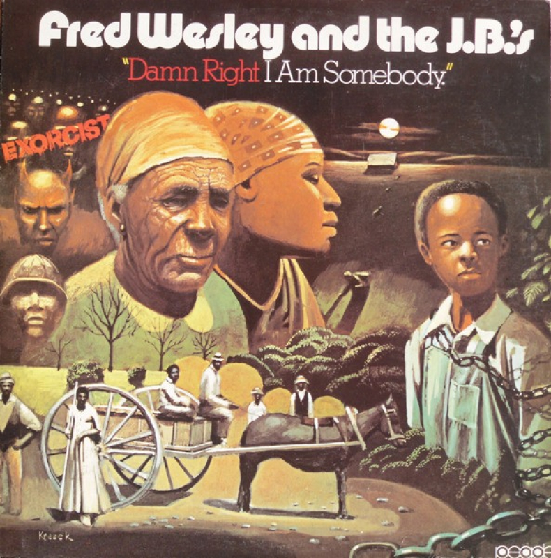 Fred Wesley And The J B s -  Damn Right I Am Somebody (CD)