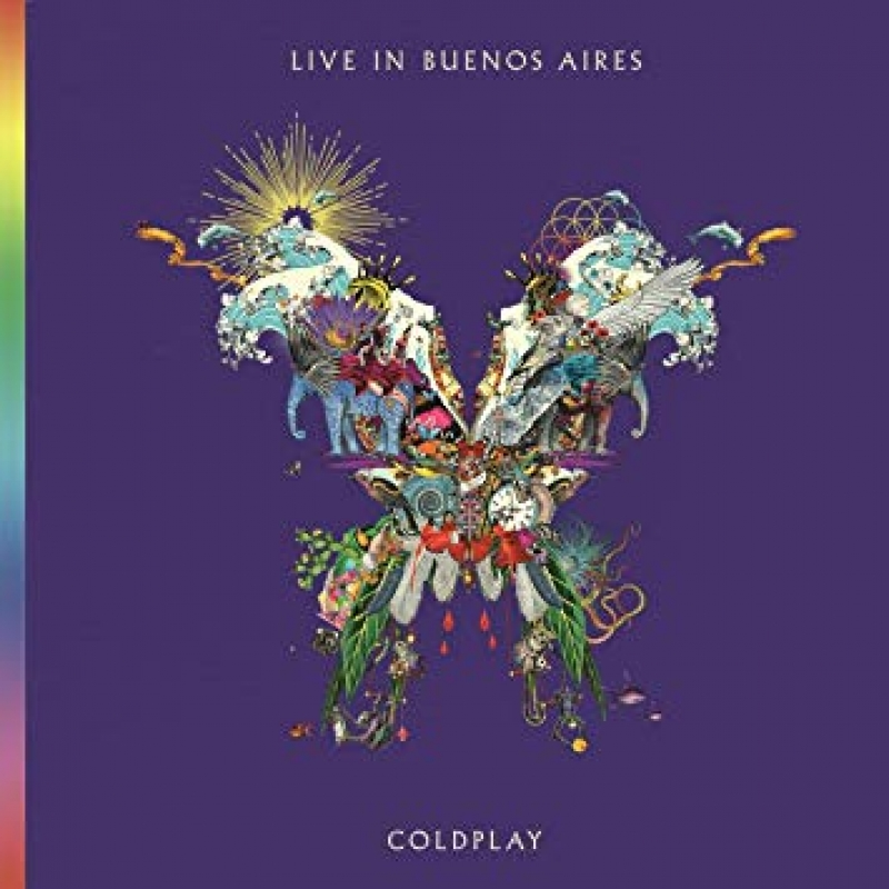 COLDPLAY - Live in Buenos Aires CD DUPLO