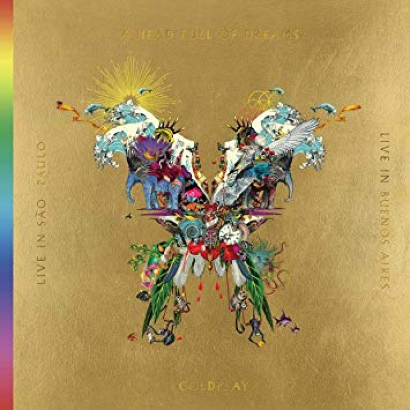 Coldplay - A Head Full Of Dreams LIVE IN SAO PAULO E BUENOS AIRES ( 2CD 1DVD )