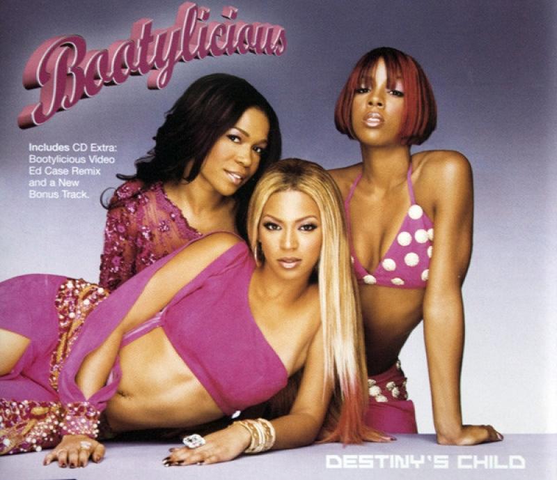 Destinys Child - Bootylicious (CD SINGLE IMPORTADO)