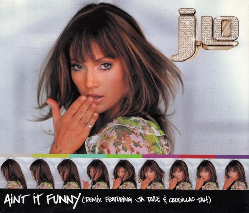 Jennifer  Lopez - Aint It Funny ( CD SINGLE IMPORTADO )
