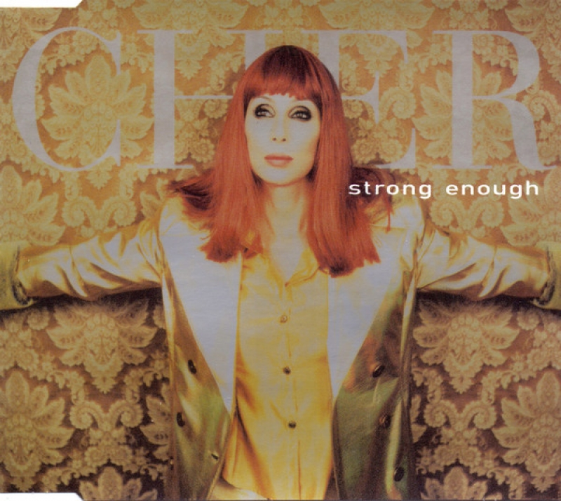 Cher - Strong Enough ( CD SINGLE IMPORTADO )