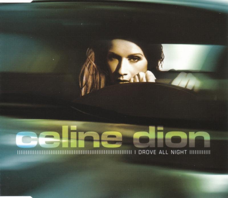 Celine Dion - I Drove All Night ( CD SINGLE IMPORTADO )