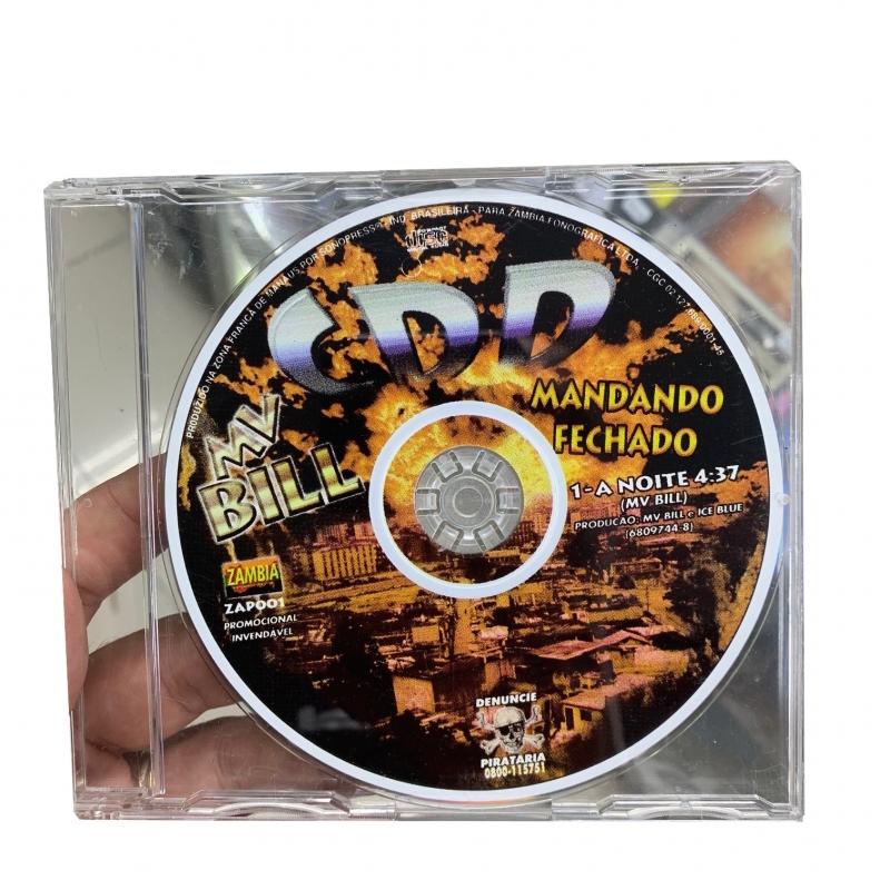 MV BILL - A NOITE CD SINGLE RARO