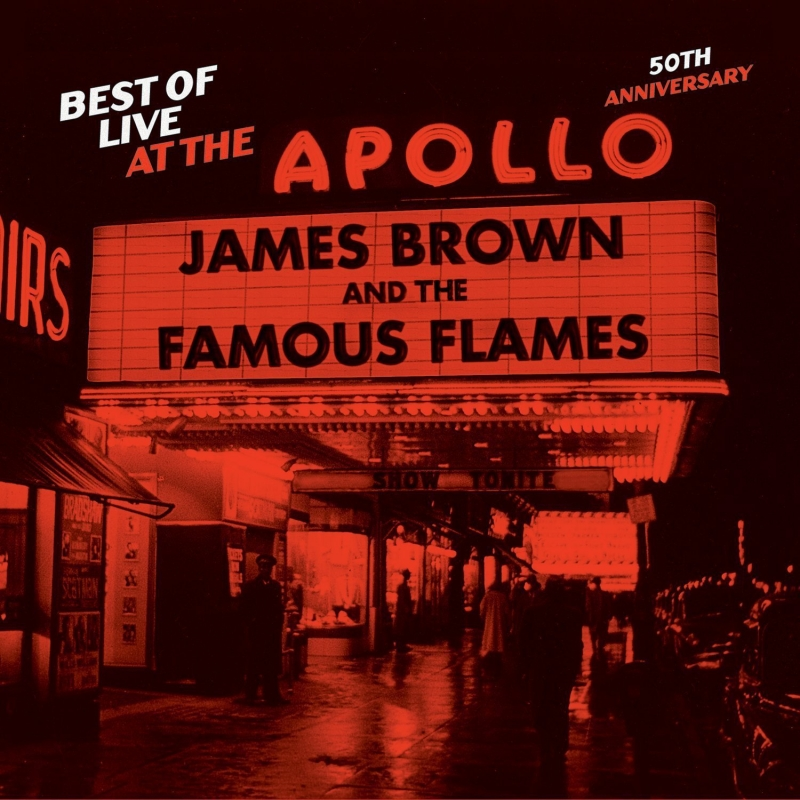 James Brown - Best Of Live At The Apollo 50th Anniversary (CD)