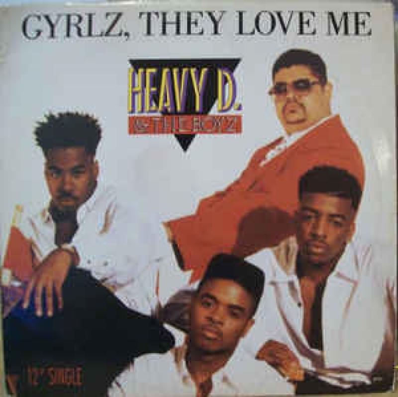 LP Heavy D The Boyz - Gyrlz They Love Me VINYL IMPORTADO