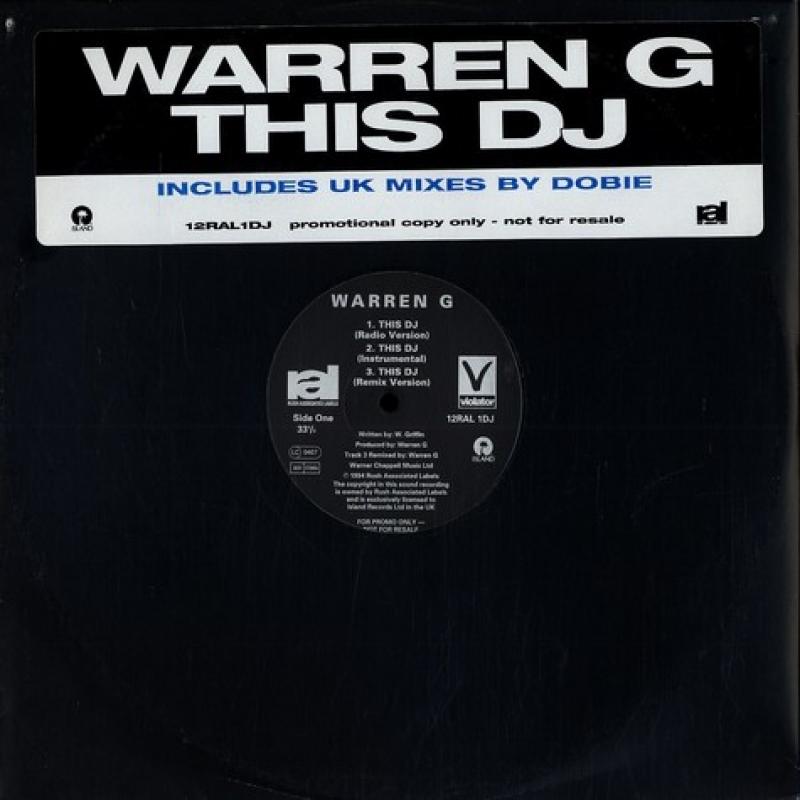LP Warren G - This DJ VINYL