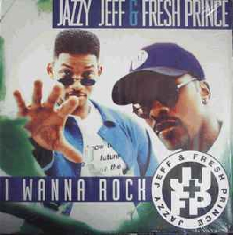 LP Jazzy Jeff e Fresh Prince - I Wanna Rock VINYL SINGLE