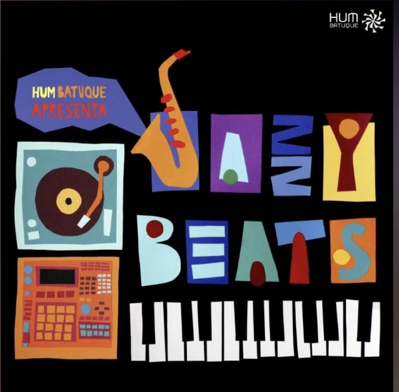 LP DJ  HUM - BATUQUE APRESENTA JAZZY BEATS VINYL