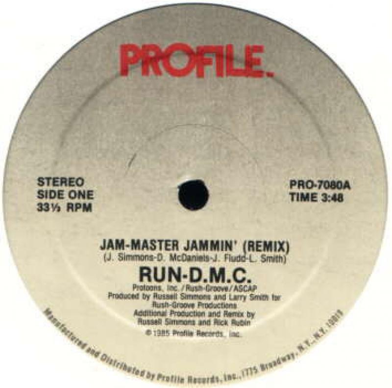 LP Run D M C - Jam-Master Jammin (Remix) VINYL