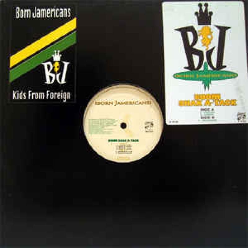 LP Born Jamericans - Born Jamericans  VINYL
