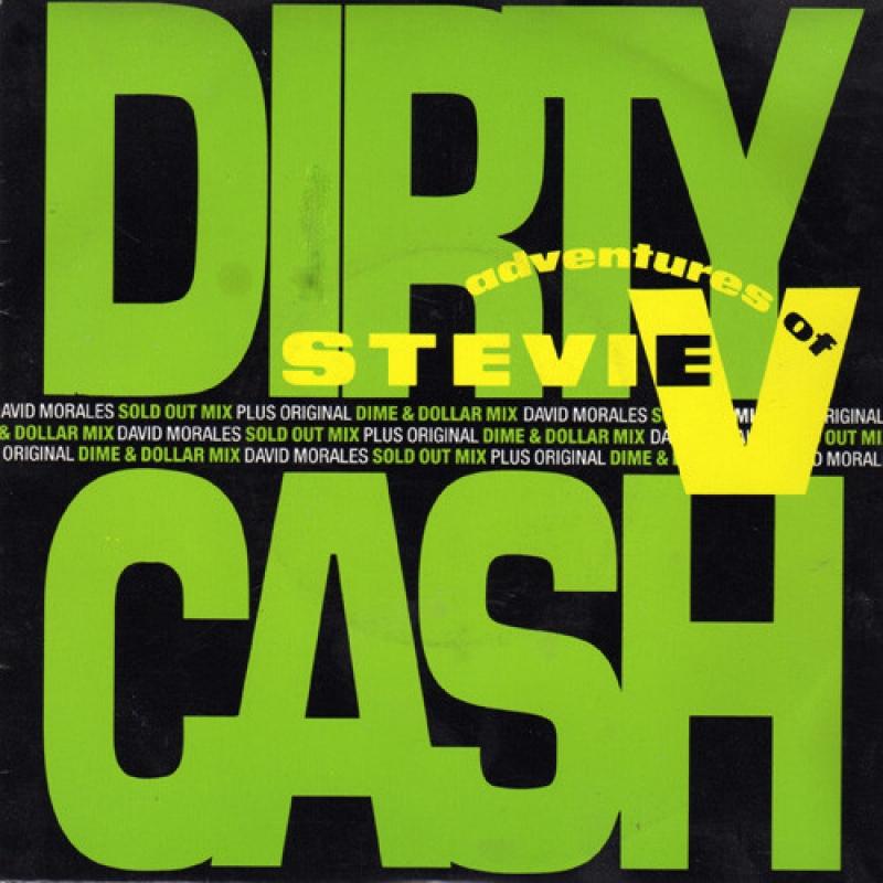 LP Stevie V - Dirty Cash Adventures Of VINYL COMPACTO 7 POLEGADAS