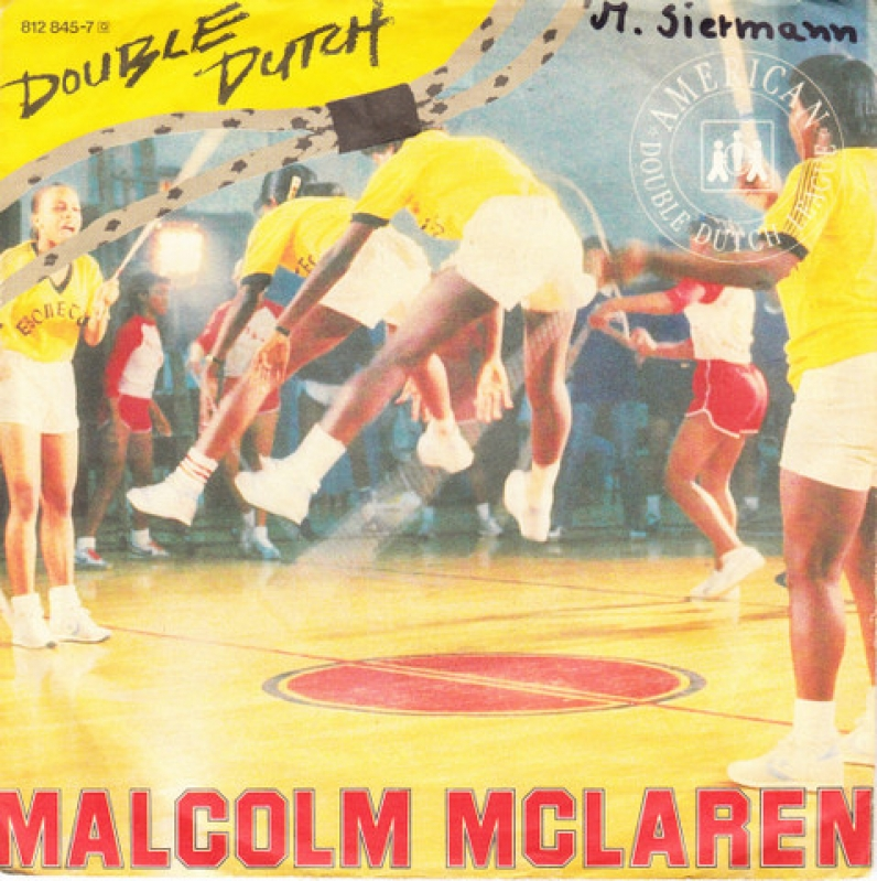 LP Malcolm McLaren - Double Dutch VINYL COMPACTO 7 POLEGADAS