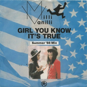 LP Milli Vanilli - Girl You Know Its True VINYL COMPACTO 7 POLEGADAS