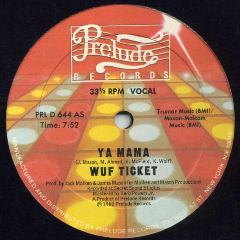 LP Wuf Ticket - Ya Mama COMPACTO 7 POLEGADAS