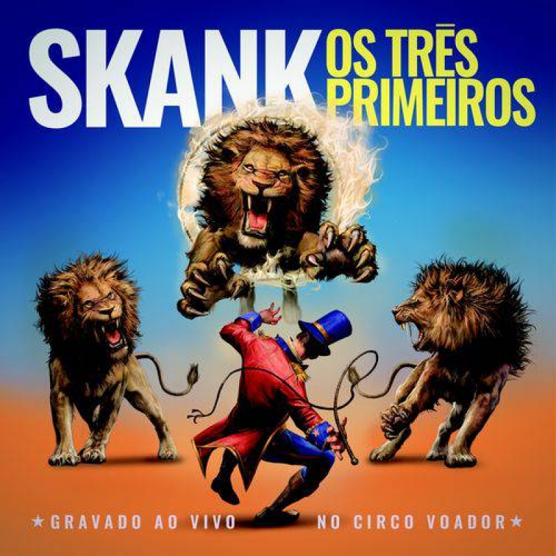 Skank - Os Tres Primeiros CD DUPLO