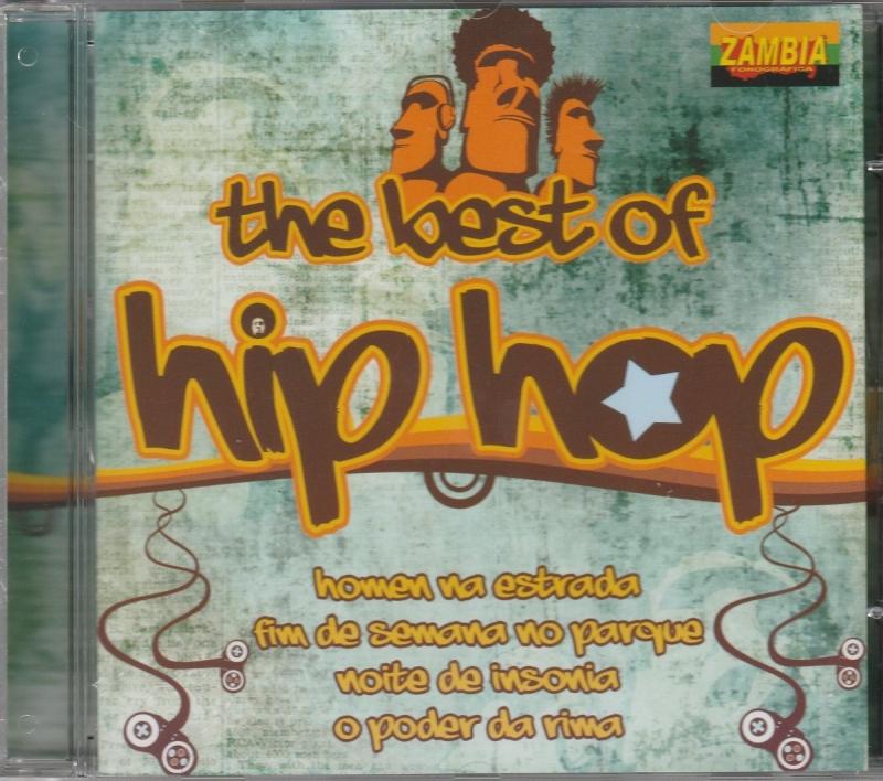 Cd The Best Hip Hop - Racionais Mcs Sistema Negro Negra Gizza