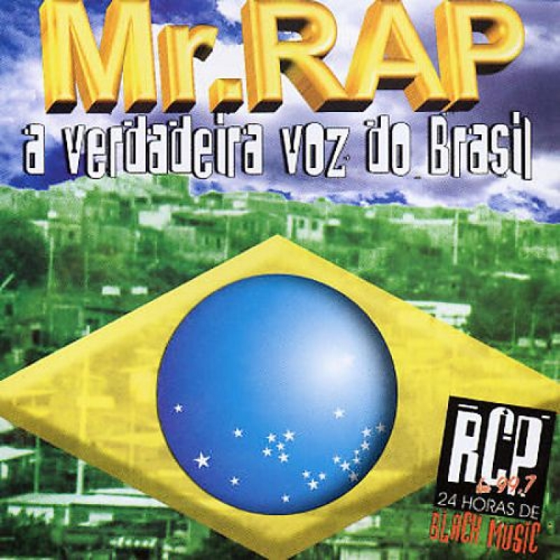 Mr Rap - A Verdadeira Voz do Brasil (CD) RAP NACIONAL