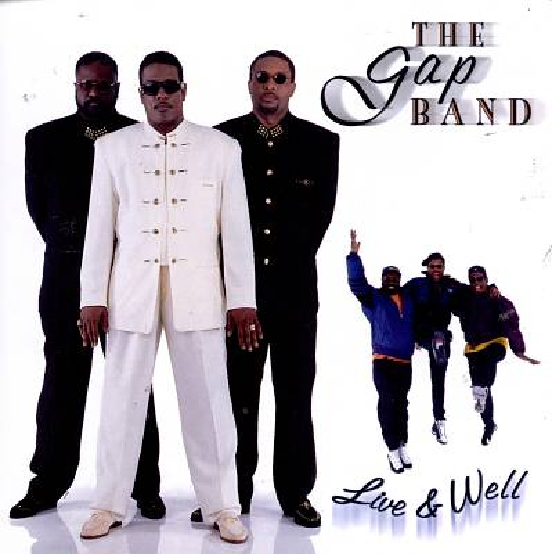 The Gap Band Live Well (CD)