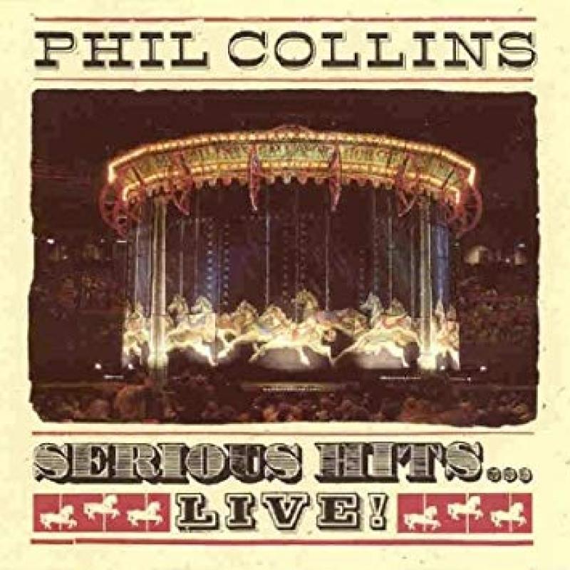 LP Phil Collins - Serious Hits Live VINYL DUPLO IMPORTADO (LACRADO)
