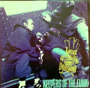LP Lords Of The Underground - Keepers Of The Funk VINYL DUPLO IMPORTADO LACRADO