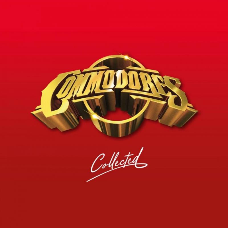 LP Commodores - Collected VINYL VERMELHO DUPLO IMPORTADO LACRADO 180 GRAMA