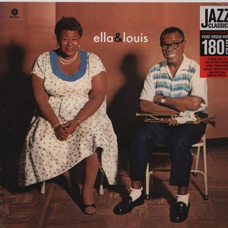 LP Ella Louis - Ella Louis VINYL 180 GRAMA IMPORTADO LACRADO