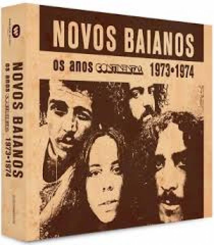 Box Novos Baianos - Os Anos Continental 1973 1974 (2CD)