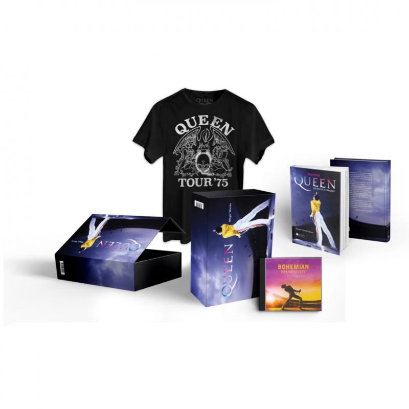 BOX Queen - Magic Works - Box Livro Cd Camiseta LACRADO