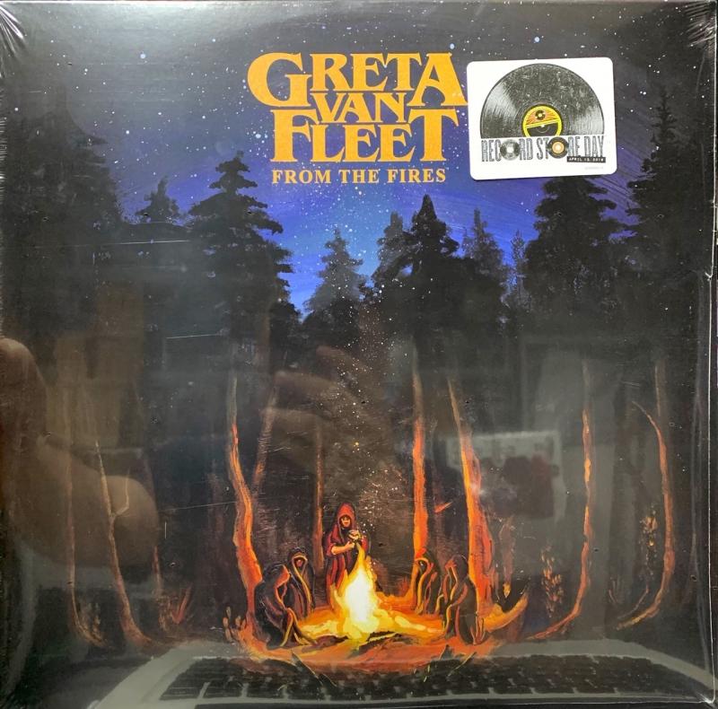 LP Greta Van Fleet - From The Fires (RSD) VINYL IMPORTADO LACRADO