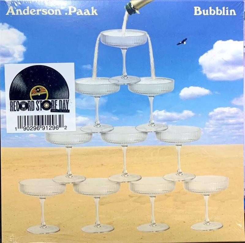 LP ANDERSON PAAK - BUBBLIN (RSD) 7 POLEGADA IMPORTADO