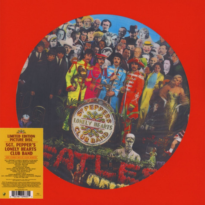 LP The Beatles - Sgt Peppers Lonely Hearts Club Band VINYL PICTURE LIMITED EDITION IMPORTADO LACRADO