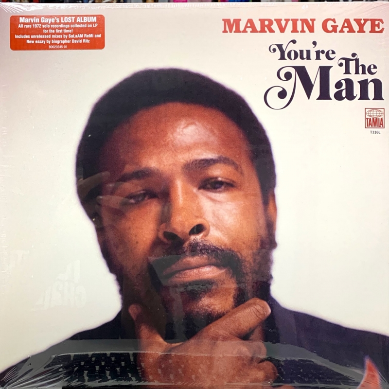 LP MARVIN GAYE - YOURE THE MAN VINYL DUPLO IMPORTADO LACRADO