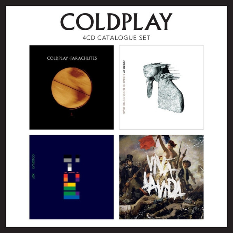 Coldplay - Catalogue Set (BOX 4CDs)