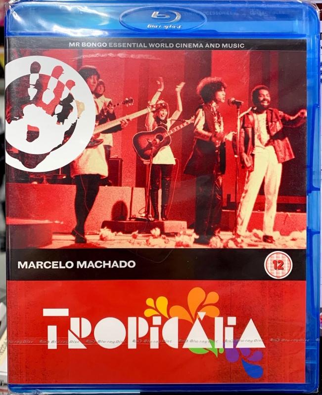 TROPICALIA - MARCELO MACHADO - MR BONGO BLURAY IMPORTADO