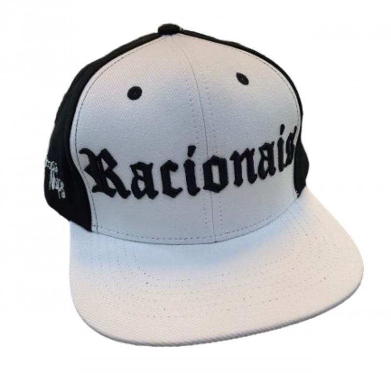 BONE RACIONAIS TRADICIONAL PRETO E BRANCO