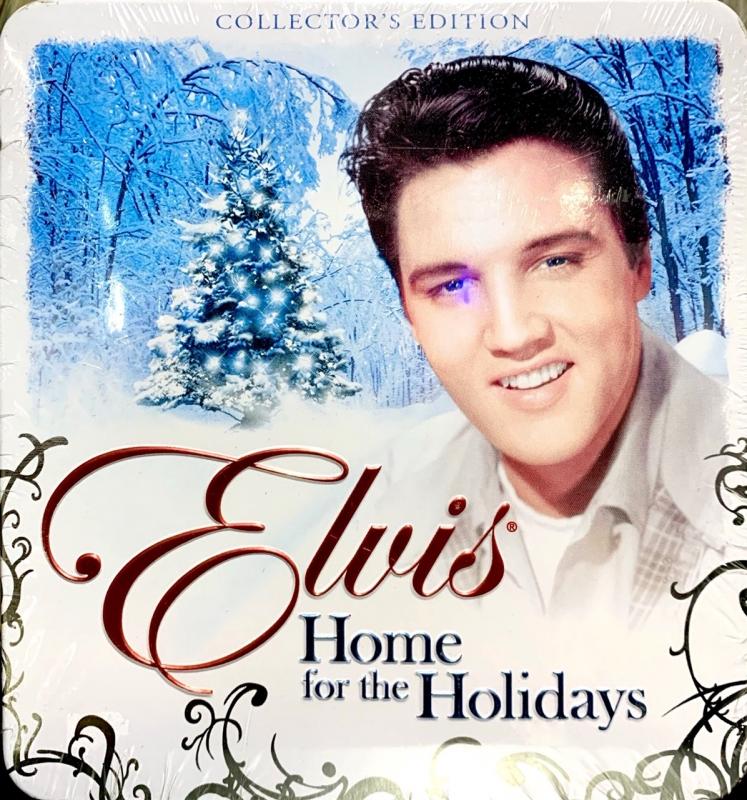Box Lata Elvis Presley - Home For The Holidays CD IMPORTADO