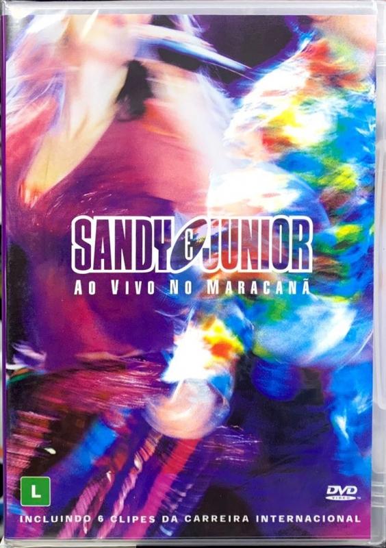 Sandy e Junior - Ao Vivo No Maracana DVD