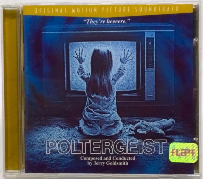 Poltergeist 1997 Trilha Perfeito Estado Jerry Goldsmith (CD)